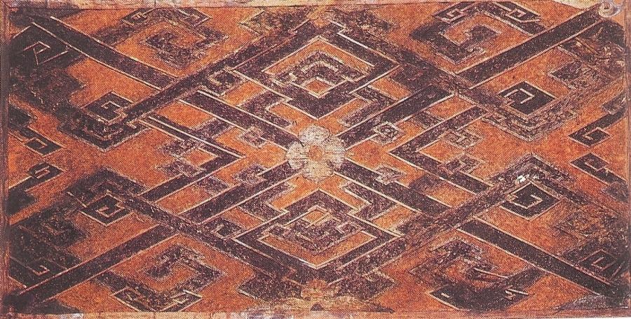 Woven silk textile