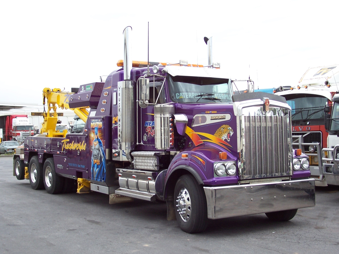 Australian Kenworth T908 heavy towing and recovery truck